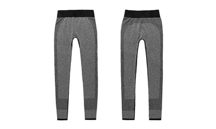 Women winter gothic leggings sports fashion women pants leggings - Grey / Large