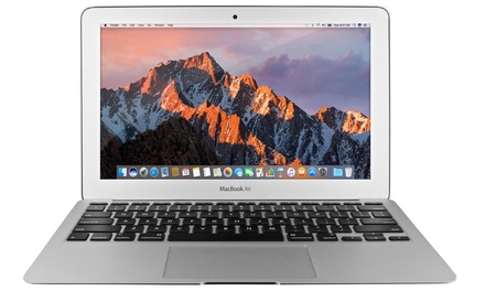 "Apple MacBook Air 11"" MJVM2LL/A 4GB RAM 128GB SSD (2015) Scratch and Dent"
