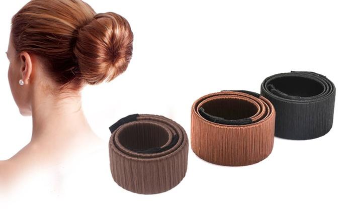 Assorted Easy Hair Bun Maker Groupon