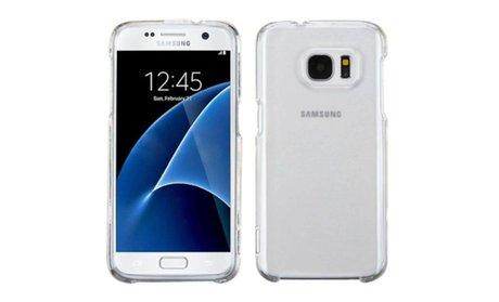 Insten Clear Rubber TPU Gel Case For Samsung Galaxy S7
