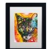 Dean Russo 'Intent' Matted Black Framed Art