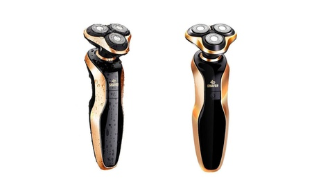 Waterproof Gold Rotary Men's Cordless Shaver with 4D Floating Heads bb2deb51-75ec-4aee-91c8-57376feb2b2e
