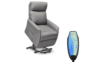 Costway Electric Power Lift Massage Chair Recliner Sofa w/Remote