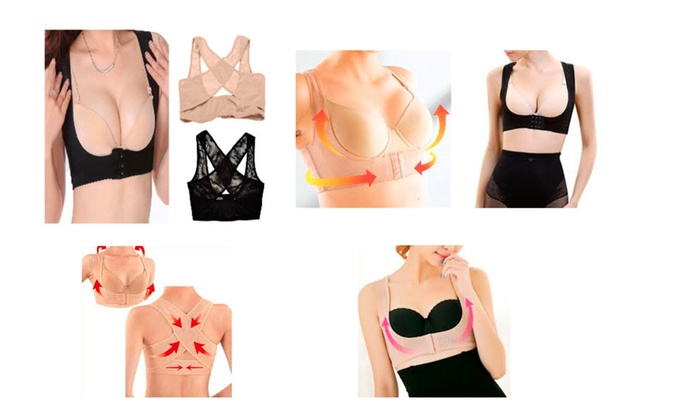 3 or 6 Packs of For Women Chest Bra Holder And Back Posture Corrector