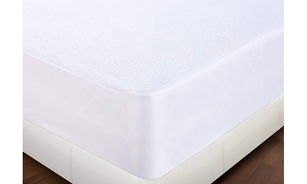 NEW SOFT FABRIC MATTRESS COVER BED BUG PROTECTOR HYPOALLERGENIC COVER