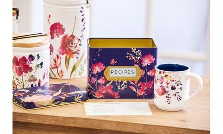 Recipe Tin with Recipe Cards and Ceramic Cup ff6fcb35-4d2f-44f7-91a9-cbfd994c9840