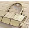 Women Totes Shoulder Bag Casual PU Personality Square