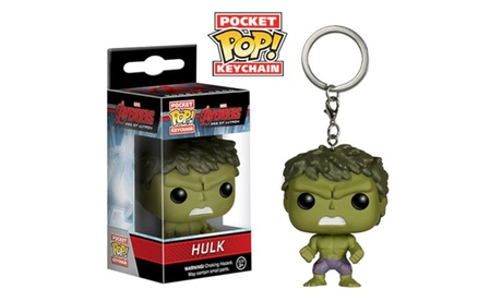Pocket Keychain Marvel Avengers Age Of Ultron Hulk Vinyl Figure Toy 7941d64c-1a37-4440-a6a4-8b0f9cd52dcf