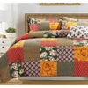 Cotton Quilt Real Patchwork  3 Pieces Queen size