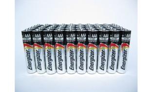 50-Pack Energizer Max AA or AAA Alkaline Batteries