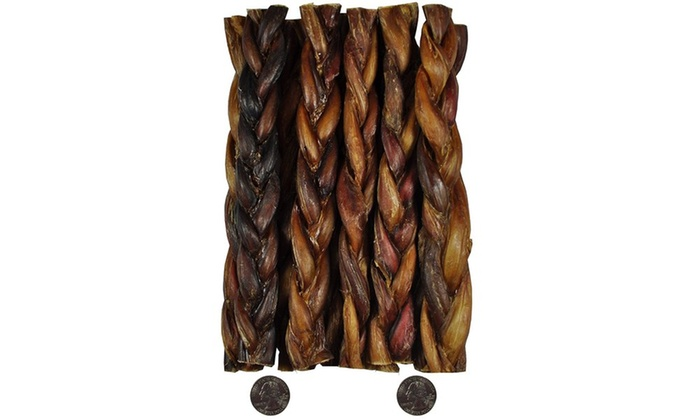 downtown pet supply braided bully sticks groupon. Black Bedroom Furniture Sets. Home Design Ideas