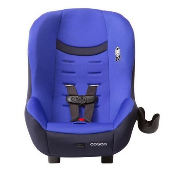 Cosco Scenera NEXT Convertible Car Seat River Run Blue Toddler Safety Booster