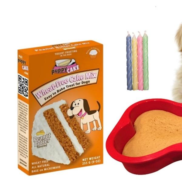 Astounding Dog Birthday Cake Kit Puppy Cake Wheat Free 7 Inch By 10 Inch Personalised Birthday Cards Arneslily Jamesorg