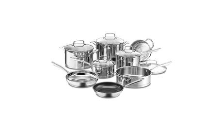 Professional Series Stainless 13-Piece Cookware Set 4f05e1dc-401f-4d52-a46f-a5e6e7452b84