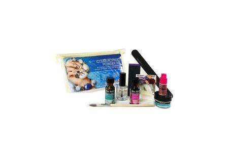 Clear Acrylic Kit 9 pcs Set f090333c-1642-4248-b46b-2a27994d208b