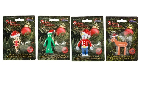 Bendable Christmas Ornament, Mr Bill, Betty Boop, Gumby, Pokey 247fcbc0-351b-4e6e-b20a-ea7b2bdd3240