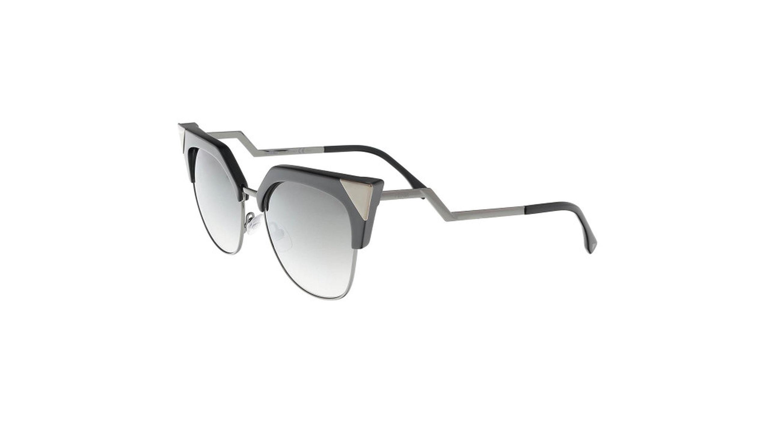 3bb5a87d344f Fendi Ff 0149 S 0kkl Iridia Black Ruthenium Cateye Sunglasses