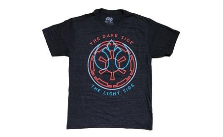 Dark Side and Light Side Star Wars T-Shirt 07994e42-ff11-4711-b2dd-253bfb9c4d99