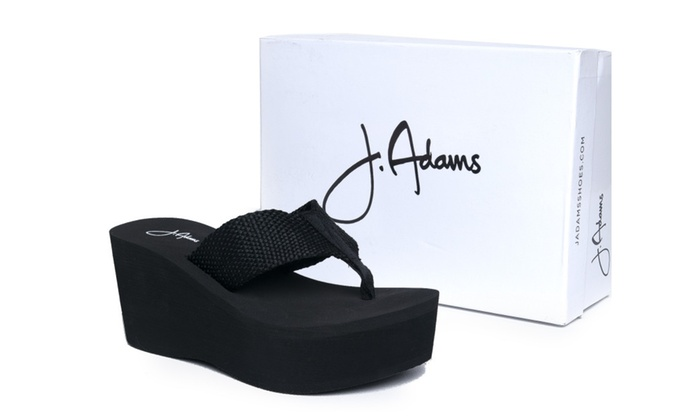 c6a474dbc High Platform Foam Sandal - Trendy Wedge Flip Flop - Comfortable Every