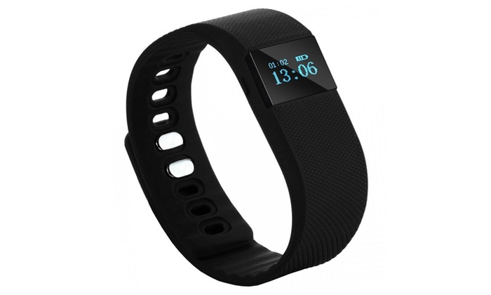 Getfit Flex Bluetooth Smart Bracelet Wristband X64 - Black