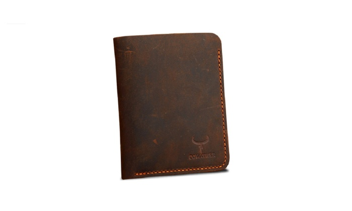 Vintage Genuine Leather Wallet for Men