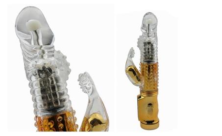 LuxVib G-spot vibrator, dual vibrating Rotating Dildo stick, 5 Speed 5e62c6e9-30d6-4e8c-ae63-c3193fc77921
