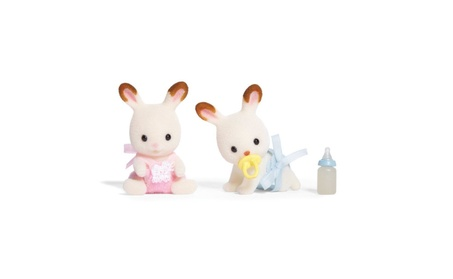 Calico Critters Hopscotch Rabbit Twins 979fc5d6-d2a4-4c7c-a64e-e3a28b1f4f16