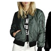 Women Lightweight Classic Quilted Jacket Short Bomber Jacket