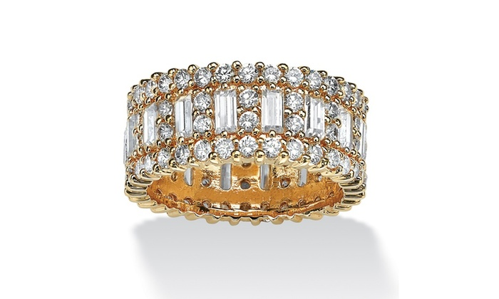 41% Off on 4.80 TCW Emerald-Cut Cubic Zi... | Groupon Goods