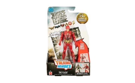 Mattel Justice League Talking Heroes The Flash™ Figure FGG52 8dace84b-c421-44f3-8e3f-048df68d710c