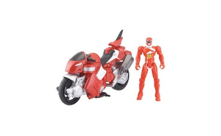 "Power Ranger Cycle with 4"" Figure Red Dino Cycle 36906231-d5d7-42c4-a19d-cb49c29c30a3"