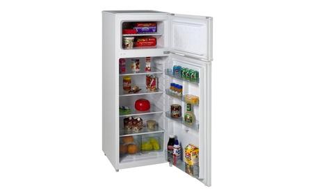 Avanti RA7306WT 2-Door Apartment Size Refrigerator, White photo