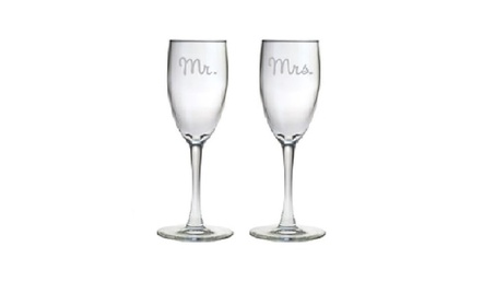 36% Off-Personalized Glasses for Every Occasion-Two Glasses Included - Champagne 3ed89cbd-97df-4946-ab6a-760386acf133
