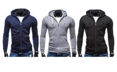 Men's Full-Zip Fleece Hoodie 5df4379a-19f0-4e24-ae8d-6fbe64f357f6