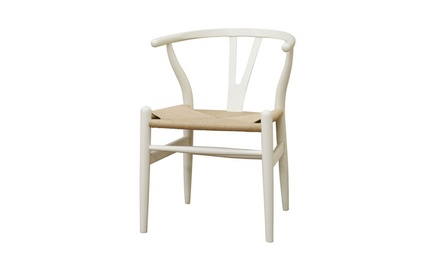Modern Wishbone Chair (Set of 2)