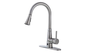 Motion Sense Touchless Kitchen Faucet Pull-Down Single Handle
