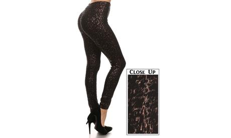 Metalic Cheetah Leggings ea37ba59-9d2b-4374-86c7-72802b4b220d