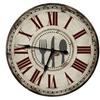 Farm Country Decor Fork Knife Spoon Wall Clock