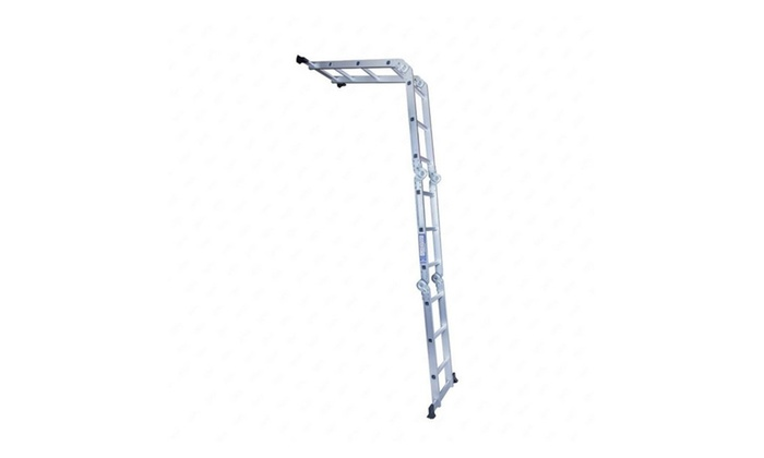 Multi Purpose Aluminum Folding Step Ladder Extendable