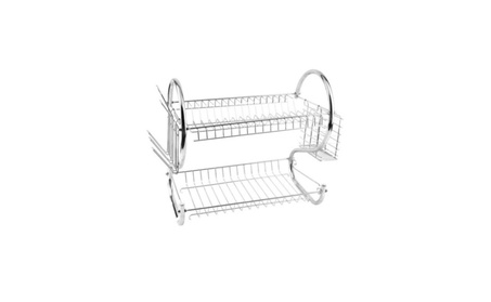 Kitchen Dish Cup Drying Rack Holder Organizer Cutlery Accessories 15d189fe-4adb-4c91-b5e6-385cbcfaed27