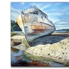 Inverness Boat by Colleen Proppe-14x14 Canvas