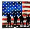 "US American Flag Marines Military Veteran Made of Steel 24"" x 14.5"""