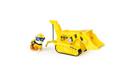 Paw Patrol Super Pup Rubble's Crane, Vehicle and Figure (works with Pa bda5a7c0-9273-494c-9faa-0a920db3ff98
