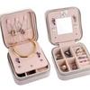 Jewelry Box Portable Travel Organizer Accessories Storage Case