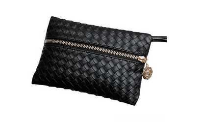 7284e40d6 Shop Groupon New Black Designer Mini Purse/Handbag For Women