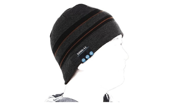 Soft and Warm Hat Wireless Beanie with Bluetooth Smart Cap