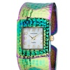 Vernier Women's V183 Elegant Hammered Bangle Watch