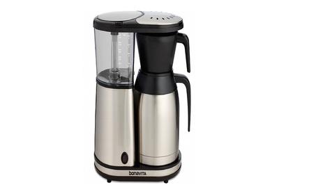 Bonavita BV1900TS 8-Cup Carafe Coffee Brewer, Stainless Steel 90de9146-fde2-49c9-a134-a7c7ba1f5f59