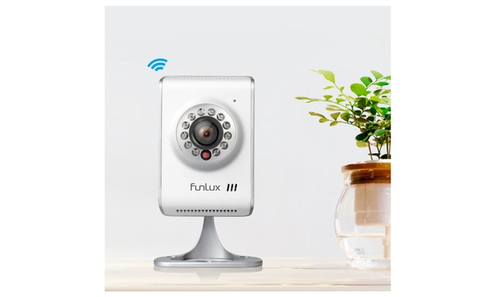 Funlux® 1280 720p hd wireless wifi ip network home security