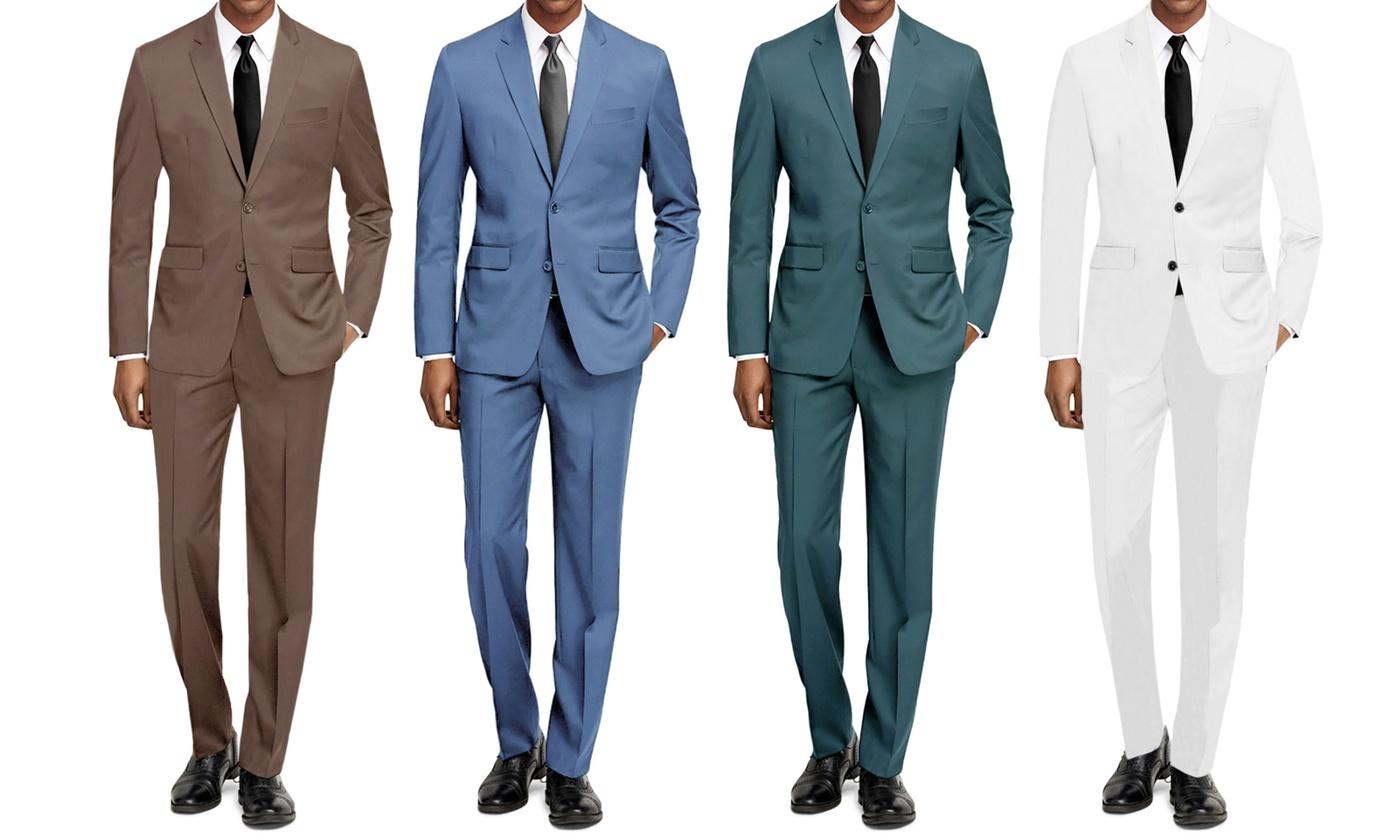 Braveman Men's Slim Fit Fashion Suits